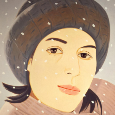 Alex Katz – December (Ada)