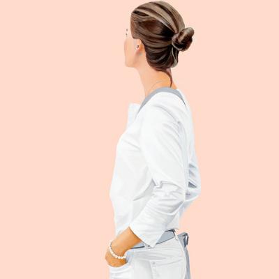 Sabine Liebchen – o.T. stehend rosa start