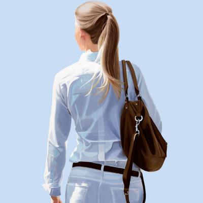 Sabine Liebchen – o.T. gehend blau start