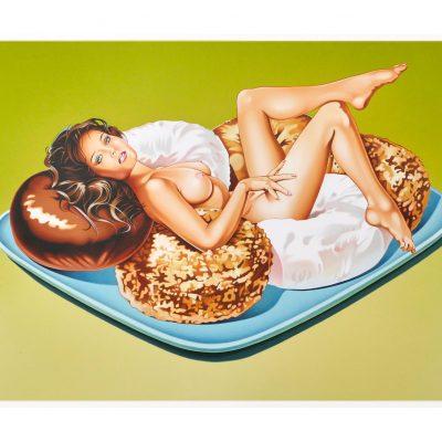 Mel Ramos Donut Doll